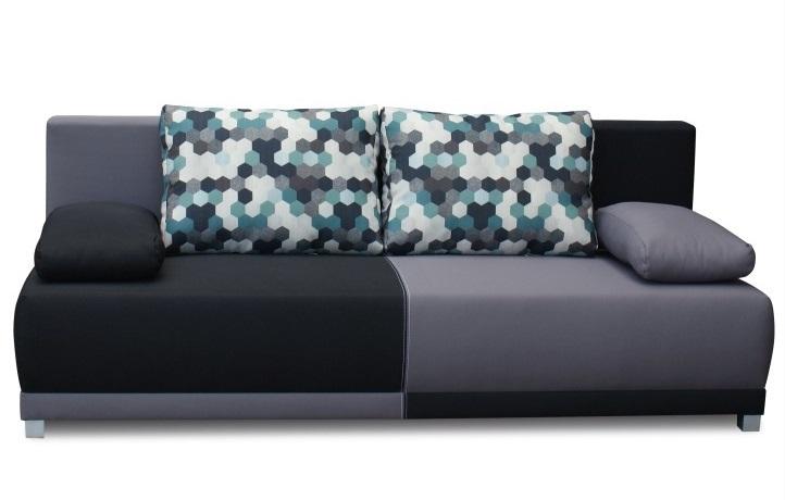 Spiker szürke kanapé