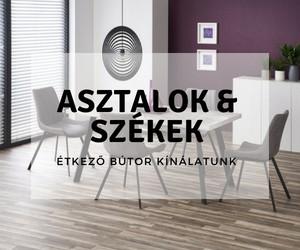 asztalok, székek, étkező bútorok