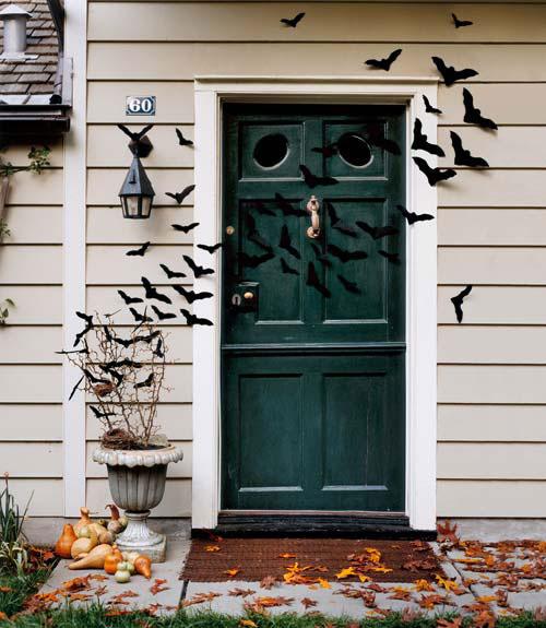 halloween lakásdekoráció papírból