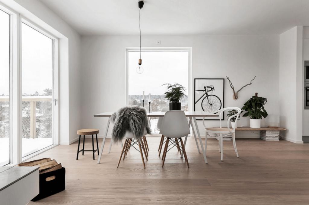 minimalista lakberendezés otthon