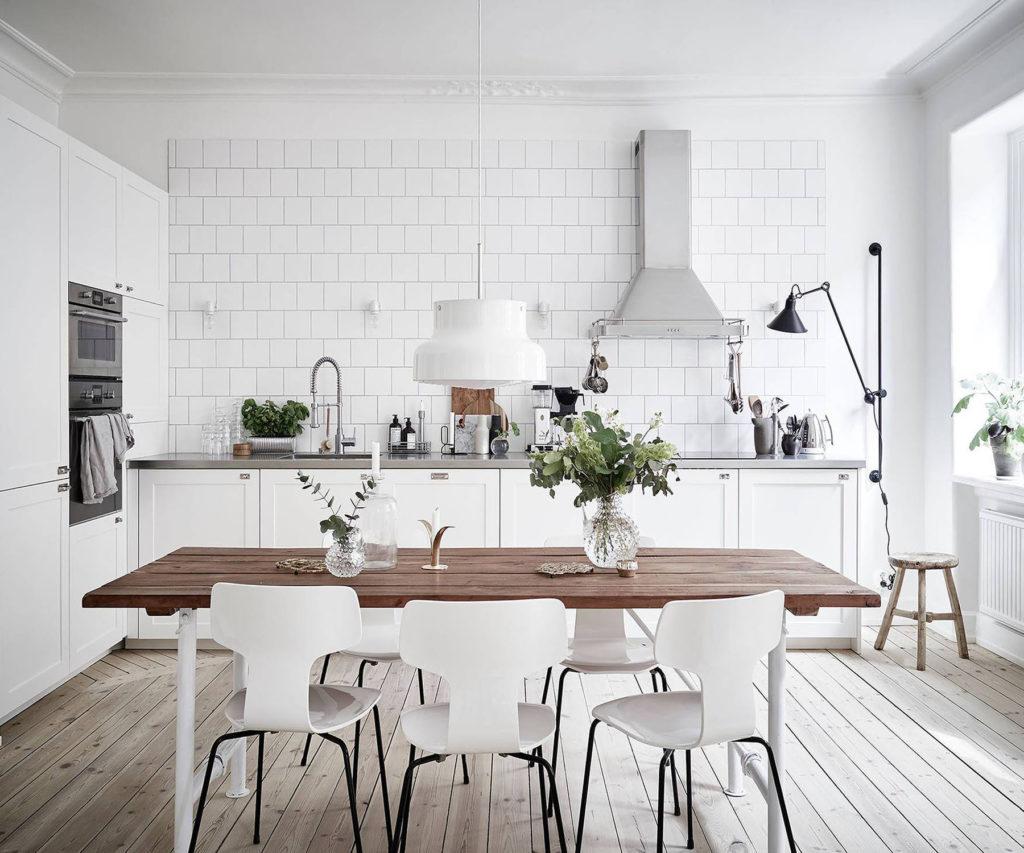 fehér konyha skandináv