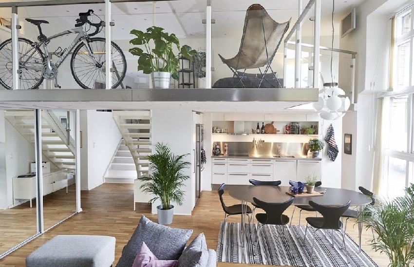 svéd otthon lakberendezés enteriőr