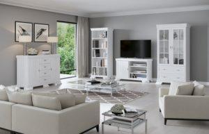 Kora nappali bútorok fehér klasszikus