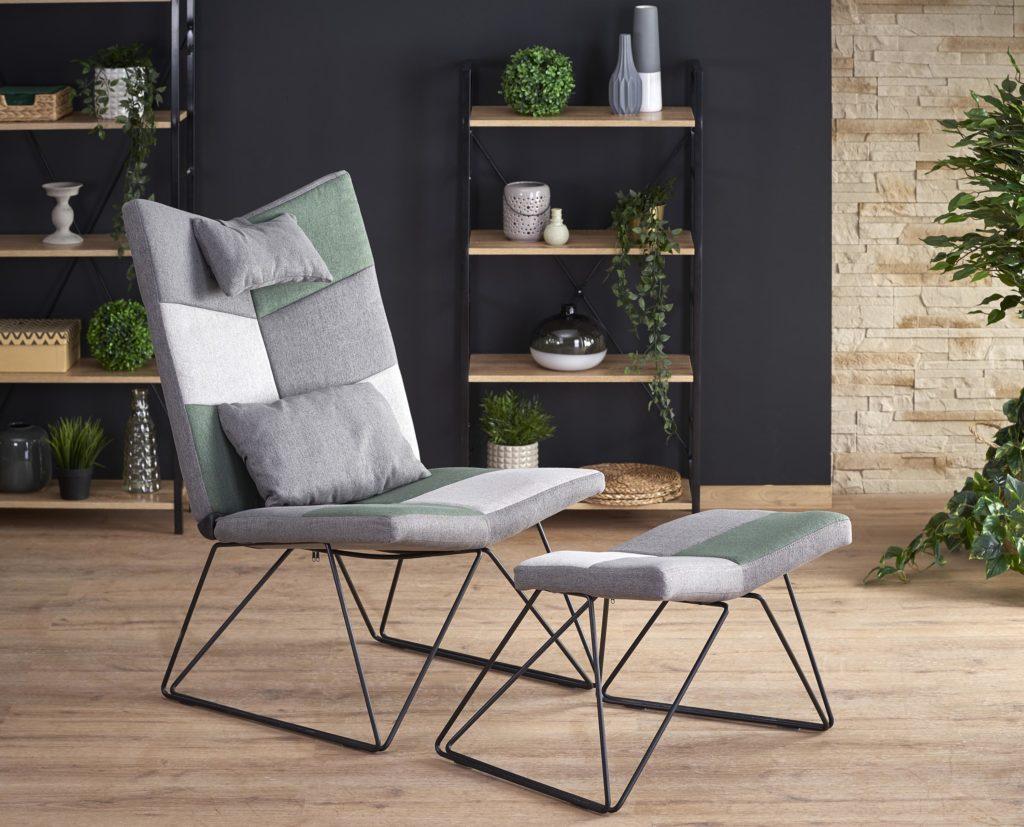 Regina design lábtartós fotel szék