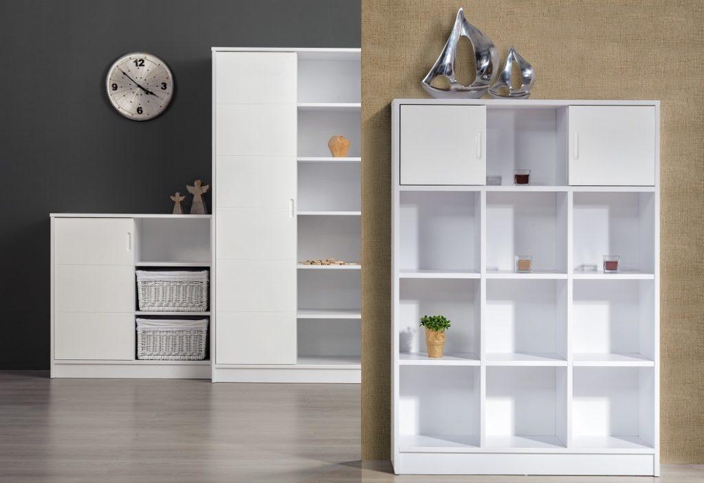 Alda fehér babaszoba bútorok szekrények