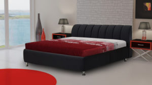 Izmir szövetes ágykeret
