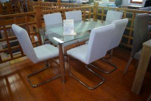 modern fehér étkezők veszprém bútorbolt