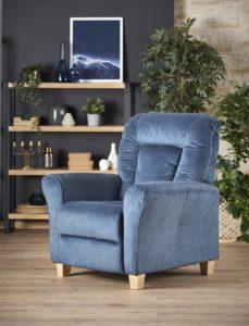 Bravo kék relax fotel