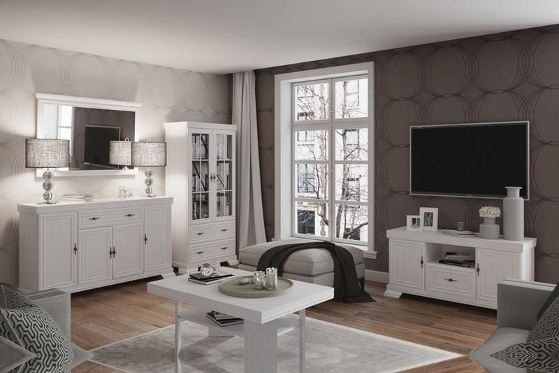 Kora fehér nappali bútorok elemes