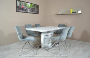 Tamba étkező garnitúra Triest asztallal