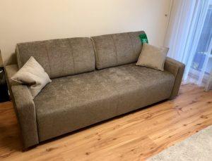 comfort line sötét barna kanapé