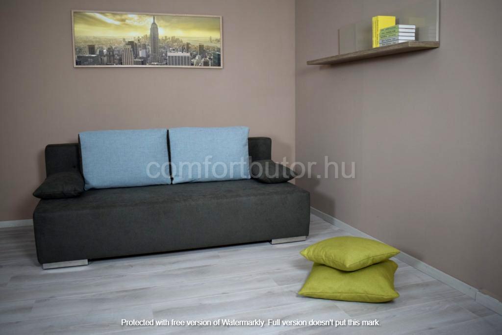 Sybill kanapé modern barna sötét szövettel