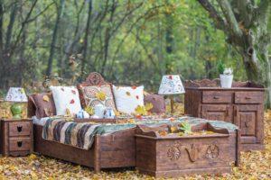 Göcsej bútorcsalád hálószoba ágy láda