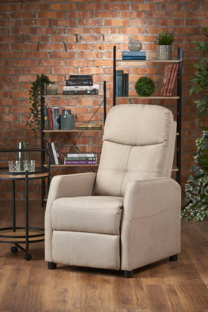 Fancy TV fotel dönthető lábtartós