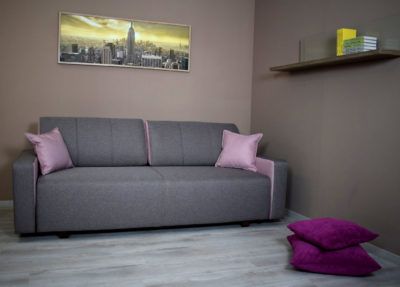 Vivat kanapé rózsaszín szürke
