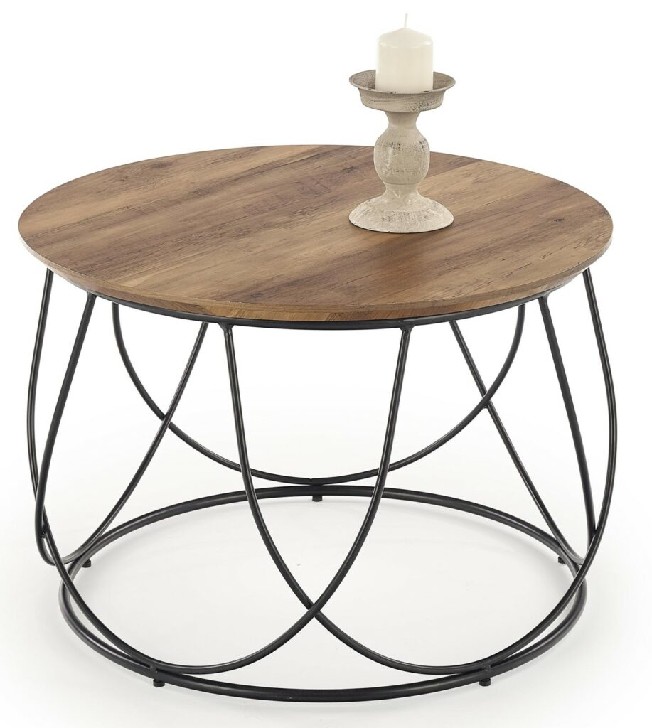 Nola kör alakú asztalka nappaliba