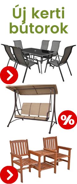 kerti bútor akciók Veszprém Kezthely