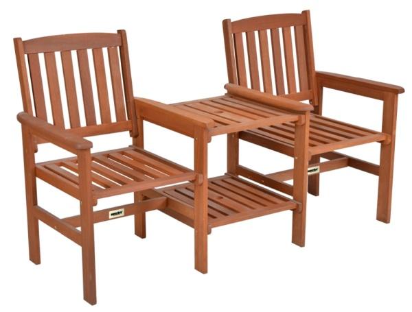 keti szett fából kerti bútor