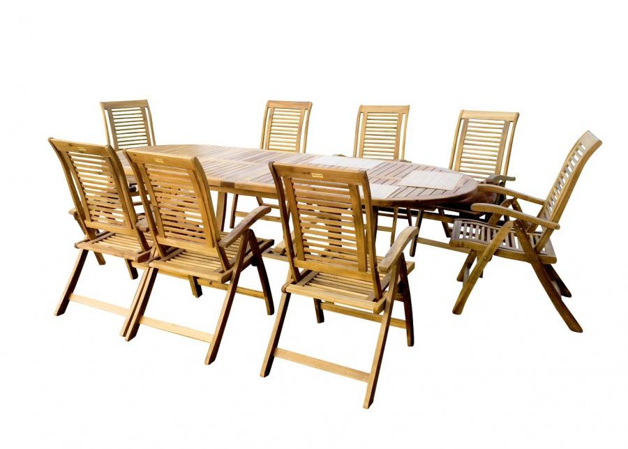 Rocca kerti étkező szett asztalok székek