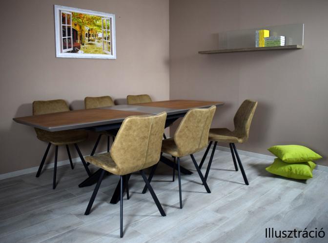 Loft étkezőasztal modern
