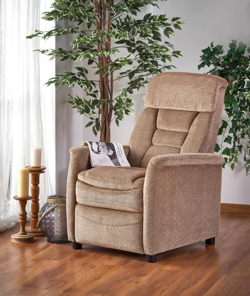 Janka relax dönthető fotel bézs