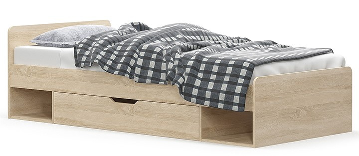 Teyo ifjúsági ágykeret ágyneműtartó fiókkal