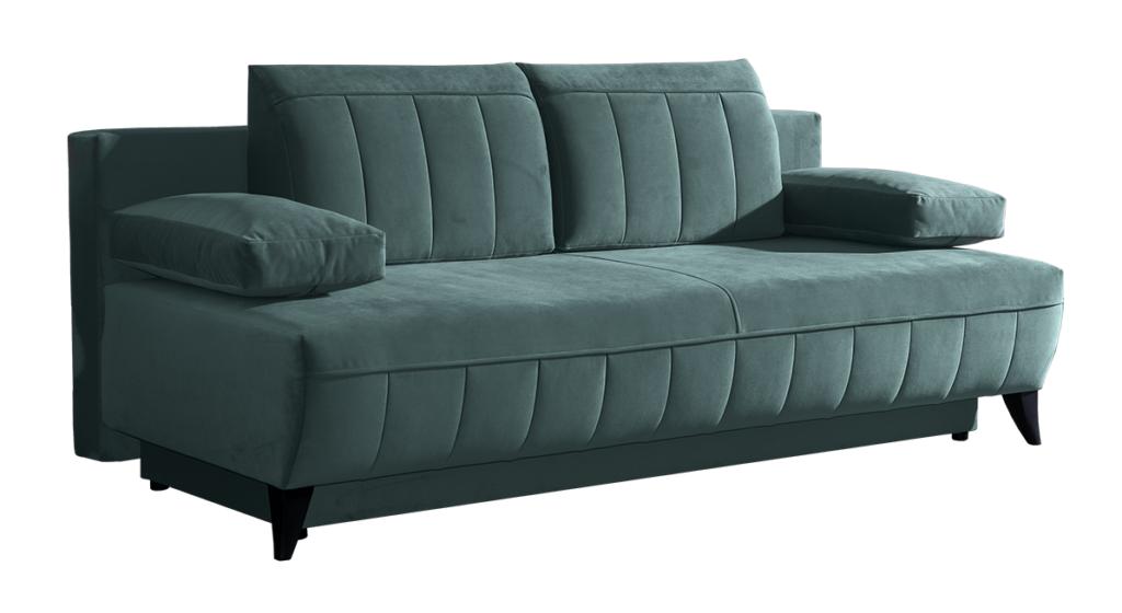 Arabica ágyazható kanapé smaragd