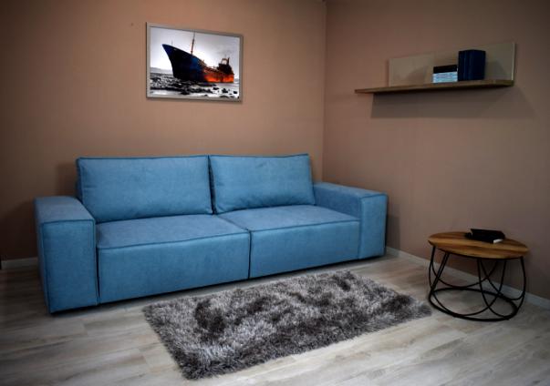 Jamiano világoskék nagy kanapé